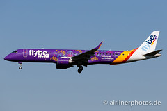 G-FBEJ (Airlinerphotos.de) Tags: ams erj190 flybe