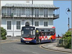 Stagecoach 26248 (Jason 87030) Tags: mmc enviro stagecoach 200 2019 august road lamp building house flats balcony scene thanet ramsgate kent southeast eastkent transport wheels bus transportation uk england