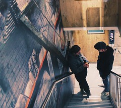 Let's talk about me for a minute.... (erlingraahede) Tags: urban lines bedifferent angle vsco canon streetphotography people amsterdam