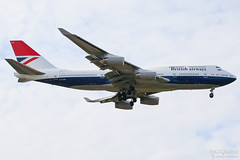 G-CIVB British Airways B747-400, EGLL, UK (Sebastian Viinikainen.) Tags: gcivb britishairways b747400 egll londonheathrow lhr landor speciallivery