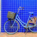 Blue Tiles and a Bicycle