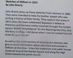 Gallery Oldham exhibit (Diego Sideburns) Tags: galleryoldham oldham johnbrierly 1815 sketchesofoldham