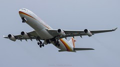 Surinam Airbus A343 (ianclarke82) Tags: ams schiphol surinam surinamairways airbus a340313 a340 a343 kaagbaan aviationphotography aviation aircraft airport airliners flight planespotting planespotters flickraviation