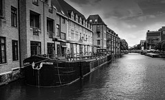 The Dyle in Mechelen (ost_jean) Tags: mechelen dedijle nikon d5300 tamron sp af 1750mm f28 x bw thedyle