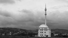 Mosque (anlgngr7) Tags: canon eos 77d 18135mm is usm nano lens cami bw blackwhite siyahbeyaz mosque mescit architectural architecture minyatür miniature