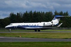 P4-GVI Gulfstream 650 EGPH 15-08-19 (MarkP51) Tags: scotland airport edinburgh edi egph plane airplane nikon image aircraft airliner d7200 markp51 sunshine sunny d500 nikon24120f4gvr nikon70200f4gvr nikonafp70300fx 650 gulfstream bizjet corporatejet p4gvi