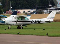 G-BPEO (wiltshirespotter) Tags: wellesbournemountford cessna 152