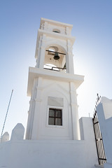Bell Tower (josullivan.59) Tags: orthodox tower white evening europe outdoor artistic architecture agean may church day detail greece greek greekislands light clear cyclades blue santorini 2019 travel