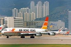 Air Hong Kong Boeing 707-321C VR-HKL (gooneybird29) Tags: flugzeug flughafen aircraft airport airplane airline hkg kaitak boeing 707 airhongkong vrhkl