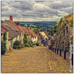 Gold Hill, Shaftesbury, Dorset, England (cee live) Tags: 2019 august goldhill shaftesbury canon flickr saxon hilltop town dorset england uk travel
