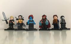X-Men (FxanderW) Tags: lego marvel xmen custom moc purist wolverine magneto magik mystique rogue colossus