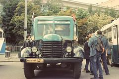 Москва. День транспорта. (vadimovich072) Tags: nikonf90 nikkor 35135mm kodakvision moscow russia analog 35мм film festival