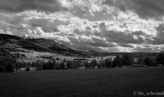 Achenbach Hessen/Germany (The_Achromat) Tags: bäume gewitter dramaticsky regen hessen himmel lichtundschatten berge dramatic bw wald wolken wetter