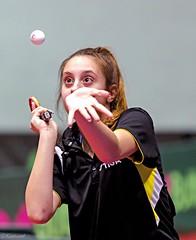 Е.Лисова: Колобок, Колобок. Спой мне свою песенку... (Sergey Klyucharev) Tags: настольныйтеннис пингпонг спорт tabletennis pingpong sport girl