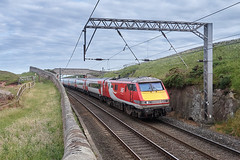 🚆 91126 · 🎫 1S21 1430 London Kings Cross - Edinburgh (ThanksDrBeeching) Tags: train railway pociąg kolej zug bahn eisenbahn berwickupontweed 91126