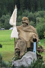 PHOTO Roman made of hay (Sidolix) Tags: roman roemer heu hay fest festival scheffau austria oesterreich