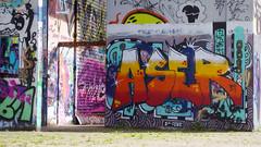 Oldenburg - ( Utkiek / street: Eidechsenstraße ) 836th picture / Graffiti, street art (tusuwe.groeber) Tags: projekt project lovelycity graffiti germany deutschland lowersaxony oldenburg city streetart niedersachsen farbig farben favorit colourful colour sony sonyphotographing nex7 bunt red rot art gebäude building gelb grün green yellow eidechsenstrase konzept concept wall wand utkiek halloffame landfill mülldeponie wandgestaltung