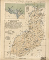 Mapa do Piauí (1909) (Arquivo Nacional do Brasil) Tags: piauí arquivonacional arquivonacionaldobrasil nationalarchivesofbrazil nationalarchives mapa map maps mapas mapasantigos