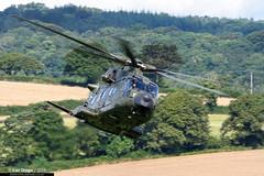 ZJ995 / AD - AgustaWestland Merlin HC3A - Nos. 28(AC)/78 Squadrons, RAF (KarlADrage) Tags: zj995 ad agustawestlandmerlinhc3a aw101 eh101 merlinhc3a 28acsquadron 28acsqn 78sqn 78squadron raf royalairforce jhc dawlishairshow dawlish lowlevel
