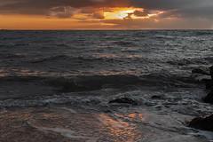 (Jesús Carmona) Tags: amanecer arena costa mar nube playa ribera