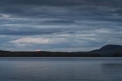 full moon rising (Diana Klawitter) Tags: vollmondaufgang vollmond schweden vildmarksvägen vilhelmina volgsjön