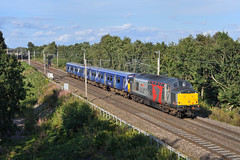 37884-Moore-15.8.19 (shaunnie0) Tags: 37884 class37 growler tractor railoperationsgroup rog scotrail emu europheonix englishelectric 314211 wcml moore 5q78