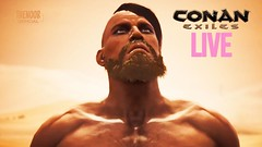 CONAN EXILES #LIVE  Let's Play! #08 (TheNoobOfficial) Tags: conan exiles live lets play 08 gaming youtube funny