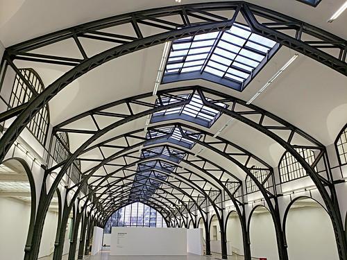 Ceiling of Berlin's Hamburger Bahnhof