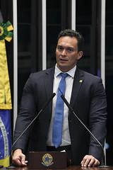 Plenário do Senado (Senado Federal) Tags: plenã¡rio senadorstyvensonvalentimpodemosrn bandeiranacional brasãlia df brasil plenário sessãodeliberativaordinária