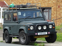 1989 Land Rover 90 Defender (Neil's classics) Tags: 1989 land rover 90 defender landrover offroad wagon