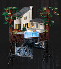 Barb's Disappearing (Legopard) Tags: lego strangerthings barb