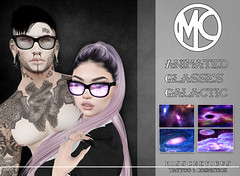 Misschevious - Animated Glasses Galactic (Darkykins) Tags: glasses saturday sale animated cute goth