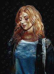 daydream shadows (sw2019 (Alt_images)) Tags: woman hair eyes colour