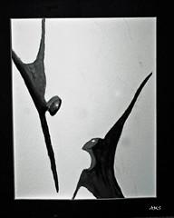 Lincoln Sculpture. (A>M>S) Tags: ams watercolour bw painting lincoln sculpture lincolnsculpture