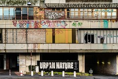 URBAN NATURE II (blende9komma6) Tags: hannover linden germany nikon z6 urban nature natur city architektur architecture street people skating building gebäude graffiti art brutalism brutalismus