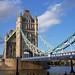 London Tower Bridge in Nice Sunlight