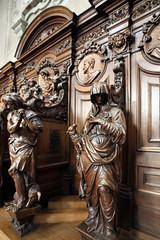 IMG_4835 Grimbergen abbey confessionals (marklarmuseau) Tags: égliseabbatiale abdijkerk abbeychurch dezachtmoedigheidlamenolijftakvanvrede deverlorenzoonvarkenaanzijnvoeten sculptorwillemkerrickxdeoudeorhendrikfransverbrugghen thelostsonpigathisfeet gentlenesslambandolivebranchsymbolizingpeace belgium monk cupola flanders grimbergen vlaamsbrabant flemishbrabant stservaasbasiliek brabantflamand vlaamsebarok flemishbaroque baroqueflamand barokkerk basilicastservatius ©copyrightmarklarmuseau baroquenorbertineabbeychurch abdijvandeordedernorbertijnen architectgilbertvanzinnick brabantsebarok sculptorhendrikfransverbrugghen norbertijnenabdijonzelievevrouwonbevlektontvangen altaroftheholydeaththroes altaarvandeheiligedoodsstrijd