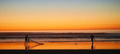 night fishing (Audvis) Tags: alisitos colores colors méxico playa beach siluetas silhouettes sea mar pesca fishing travel viajes