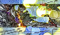 Give Life Back to Music (soniaadammurray - On & Off) Tags: digitalart art myart abstractart contemporaryart visualart experimentalart music listen enjoy arts bokeh shadows reflections artchallenge