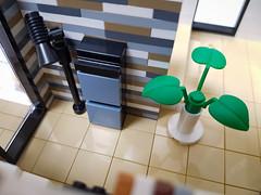 Dune House MOC. Storage upstairs. (betweenbrickwalls) Tags: lego afol moc interior design interiordesign house home furnituredesign furniture