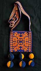 Beadwork Bag Wixarika Huichol Mexico (Teyacapan) Tags: huichol beads beadwork chaquira mexican textiles birds