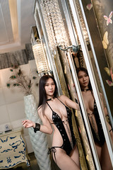 DSC_6164 (錢龍) Tags: 貝兒 中華民國 台灣 台中 沐蘭 汽車旅館 性感 巨乳 美胸 美乳 外拍 旅拍 長髮 內衣 內褲 胸罩 美麗 belle nikon d850 hotel sexy underwear