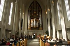 The Nave of Hallgrímskirkja (David J. Greer) Tags: reykjavik iceland tourist visit nave towering tall benches hallgrímskirkja lutheran church