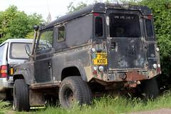F796 KOD (Nivek.Old.Gold) Tags: 1989 land rover 90 hardtop 2495cc diesel
