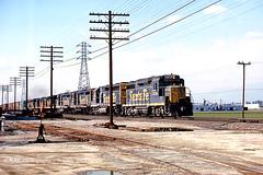 Detouring Thirty Thursday (GRNDMND) Tags: trains railroads santafe atsf locomotive emd gp30 gp35 sd24 alco rsd15 cityofindustry california