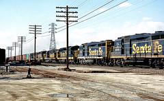Detouring Thirty Thursday-II (GRNDMND) Tags: trains railroads santafe atsf locomotive emd gp30 gp35 sd24 alco rsd15 cityofindustry california