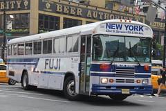 IMG_7820 (GojiMet86) Tags: fuji express three aces transportation nyc new jersey york city bus buses jitney 2001 blue bird 368 8th avenue 40th street 1baancpa91f093955