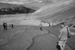 DSC08269.omi.bw (nordamerica1) Tags: 2019 august summer alberta canada rockies banff national park mountains columbia icefield glacier erica jeremy parkway