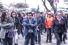 15.08.19 Ministro de Energía y Minas, Francisco Ísmodes y colaboradores del Minem participaron del Simulacro Nacional de Sismo y Tsunami en el litoral peruano y el Simulacro Nacional Multipeligro en el interior del país. (MEM - Ministerio de Energía y Minas) Tags: seleccionar