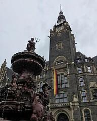 #europe #germany #northrhinewestphalia # #wuppertal #elberfeld #cityhall #city #fountain (pinus.acer) Tags: europe germany northrhinewestphalia wuppertal elberfeld cityhall city fountain